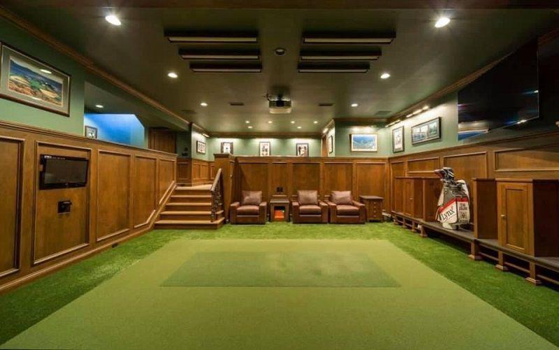 Phòng tập golf trong nhà cao cấp hạng đặc biệt