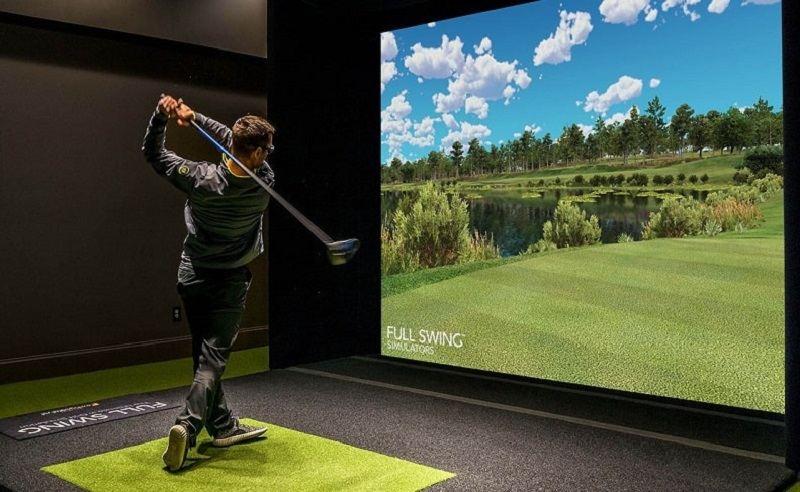 Phòng tập golf đơn