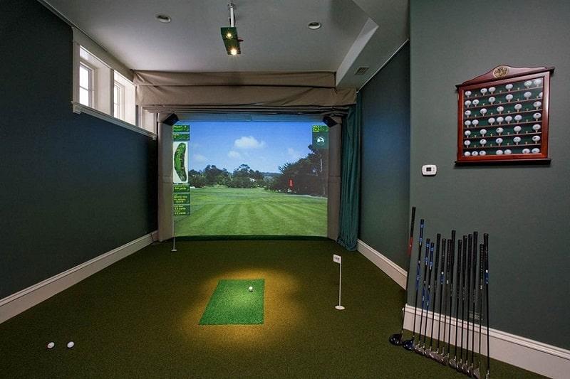 Phòng tập golf 3d mang lại nhiều lợi ích thiết thực cho golfer