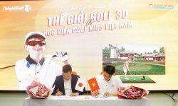 Đại diện Thế giới Golf 3D và Đại diện Học viện Golf Kids VN ký kết hợp tác