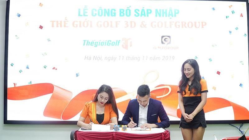Thế giới Golf 3D chính thức sáp nhập tập đoàn Golf quốc gia Golfgroup