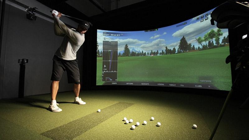 Quy trình lắp đặt phòng golf 3D gồm 5 bước