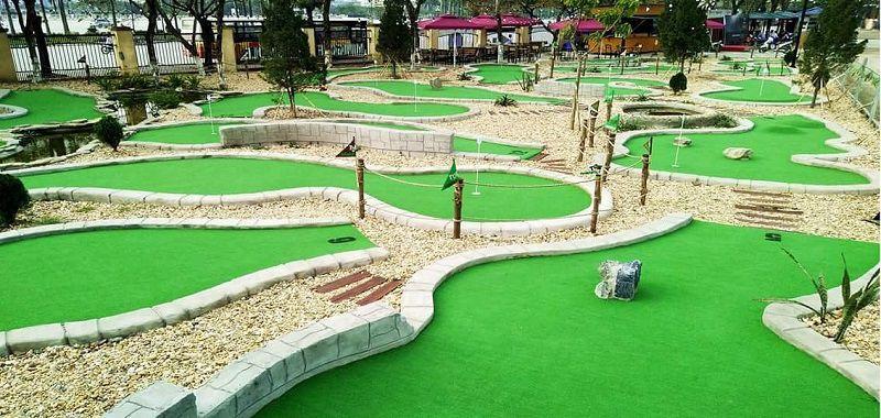 TON Minigolf tại Hà Nội được rất nhiều tay golf lui tới