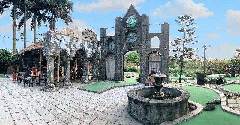 Westlake Mini Golf thu hút đông đảo golfer Hà Nội