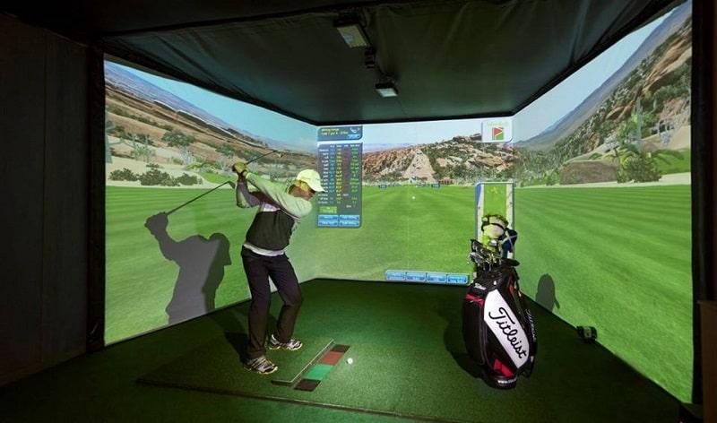 Mô hình kinh doanh phòng tập golf cho thuê theo giờ thu hút đông đảo golfer