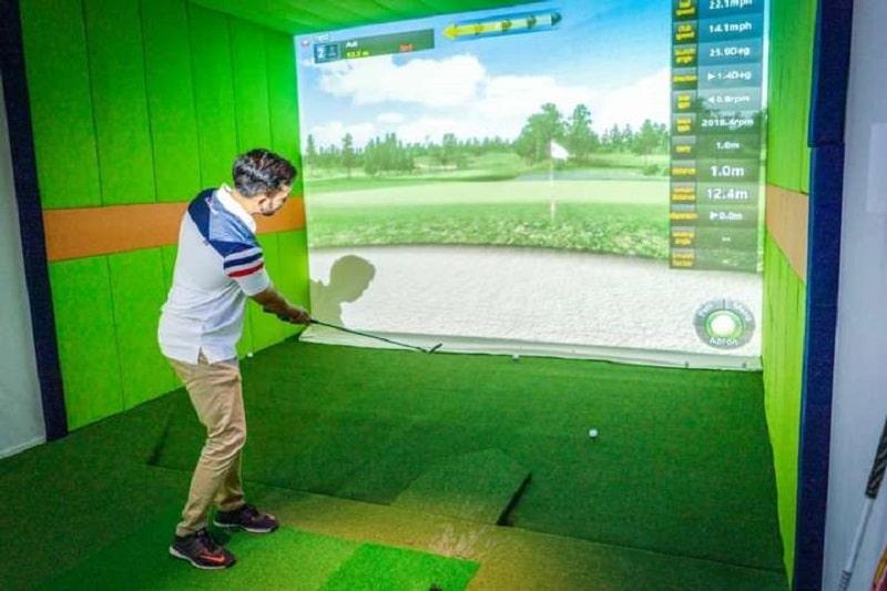 Mô hình kinh doanh phòng tập golf 3D rất phổ biến tại Nhật Bản và Hàn Quốc