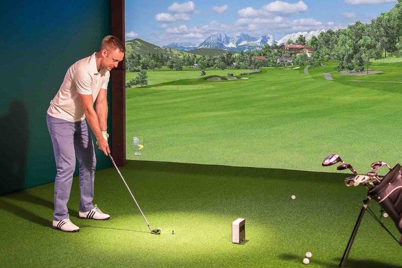 Máy tập golf 3D mang lại rất nhiều lợi ích cho golfer