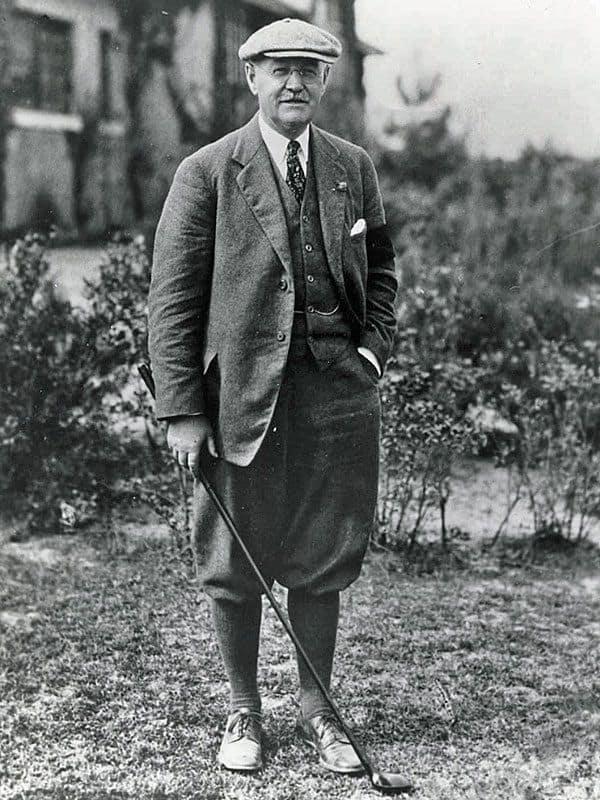 Chân dung nhà thiết kế sân golf nổi tiếng Donald James Ross