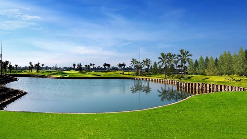 BRG Đà Nẵng được trực tiếp 2 huyền thoại golf hàng đầu thế giới là Jack Nicklaus và Greg Norman thiết kế
