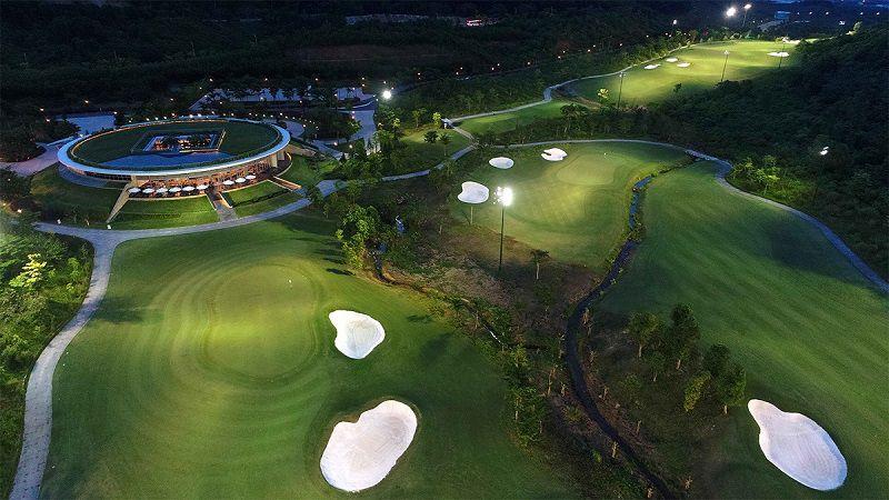 Sân golf Bà Nà Hill về đêm