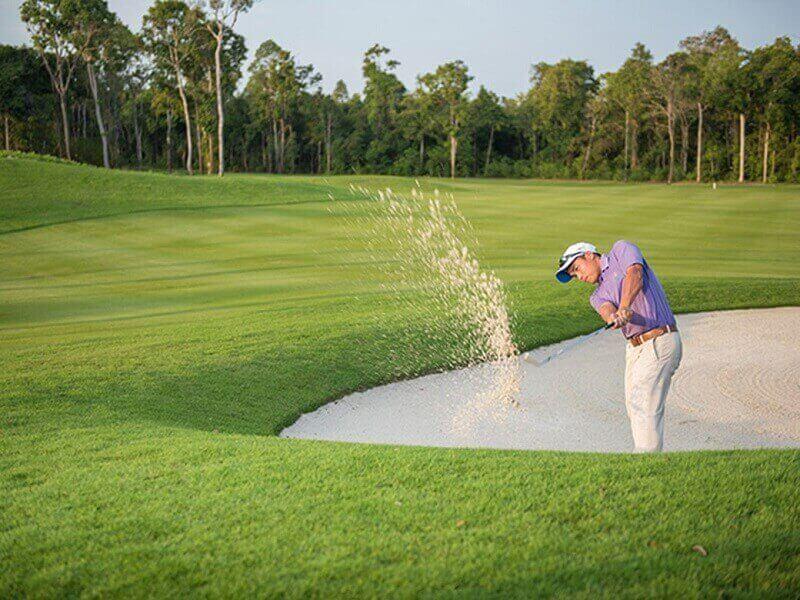 Sân sẽ được thiết kế với quy mô 18 lỗ golf