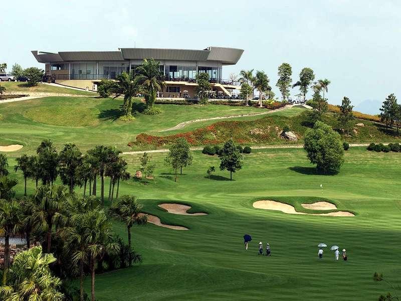 Golf Đầm Vạc sở hữu kiến trúc quốc tế đạt chuẩn 5 sao