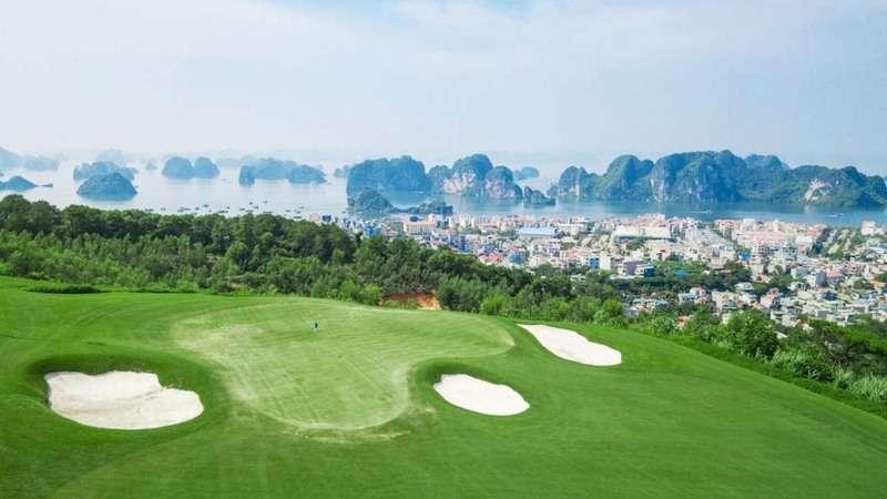 Sân golf FLC Quảng Ninh được xây dựng trên tổng diện tích 85ha