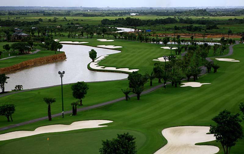 Sân golf Hà Nội ở Sóc Sơn, Hà Nội