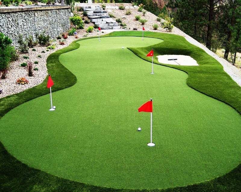 Đây chính là một mô hình thu nhỏ của sân golf thực thụ