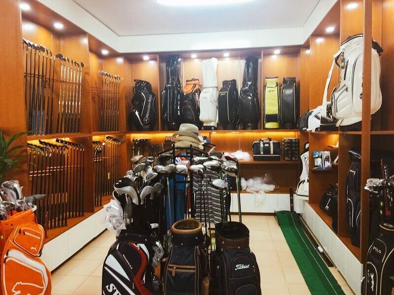 Pro shop - khu bán đồ golf chuyên dụng