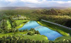 Sân golf Yên Dũng có tổng diện tích khoảng 190 hecta với 36 hố