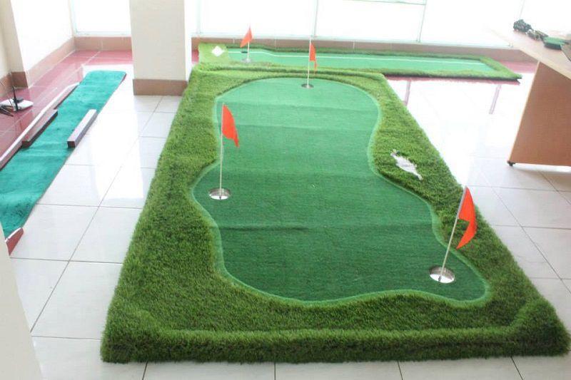 Sân golf mini tại nhà mang lại rất nhiều lợi ích thiết thực cho golfer