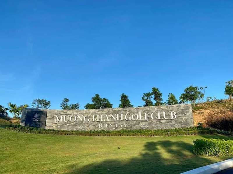 Sân golf Mường Thanh Diễn Châu,