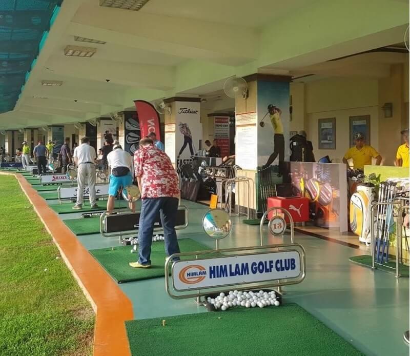 Người chơi khi đến tập luyện golf tại đây có thể hưởng thụ trọn vẹn các tiện ích đẳng cấp mà sân tập golf Him Lam Bình Thạnh Hồ Chí Minh đem đến