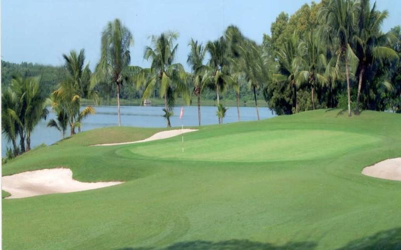 Golf Sông Bé hiện nay có tổng diện tích là 104 ha