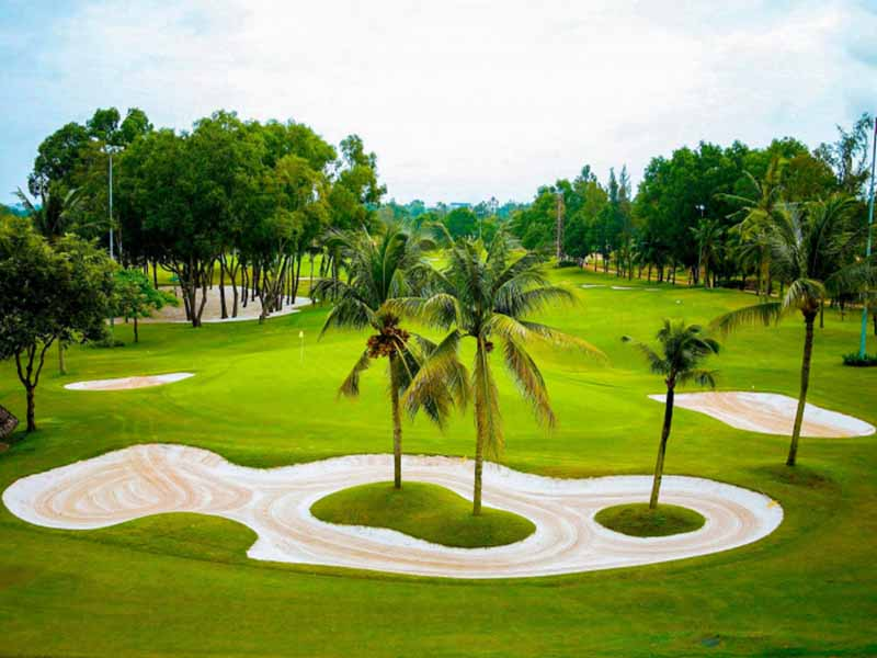 Mỗi course trong sân golf Sông Bé Bình Dương đều có sức hút riêng biệt.