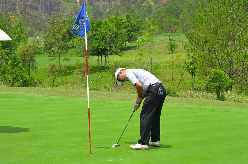Có 4 sân golf và 1 khu tập luyện, tất cả đều được quy hoạch và thiết kế gần gũi với thiên nhiên