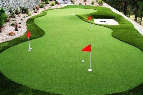 Golf 3D trên sân thượng - golfhomes