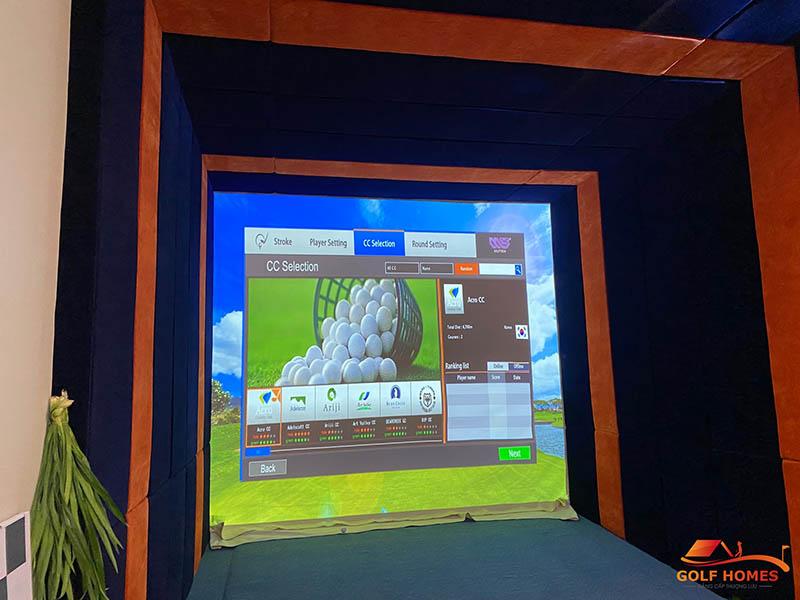 Gói lắp đặt phòng golf 3D Diamond Golf MS9 Ver 3.0 Premium