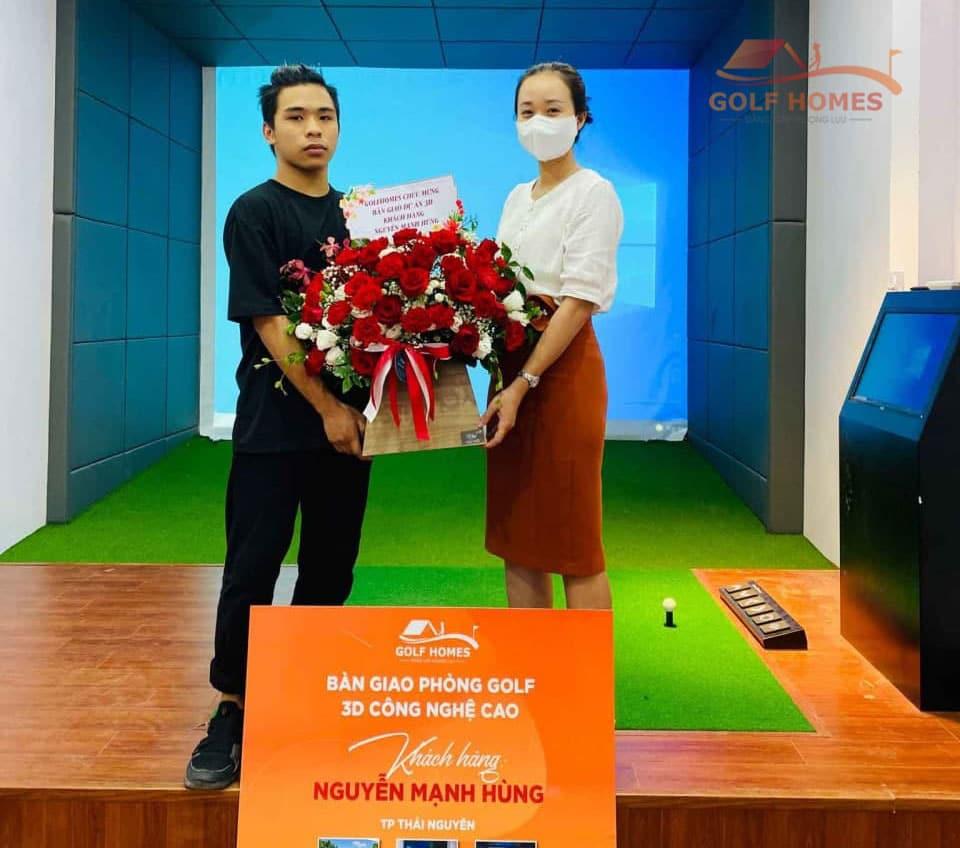 Golfhomes bàn giao dự án phòng Golf 3D tại Thái Nguyên