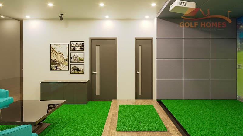 Gói Diamond Golf có thể đáp ứng nhu cầu trải nghiệm phòng golf 3D ở mức độ cao với chất lượng tốt nhất