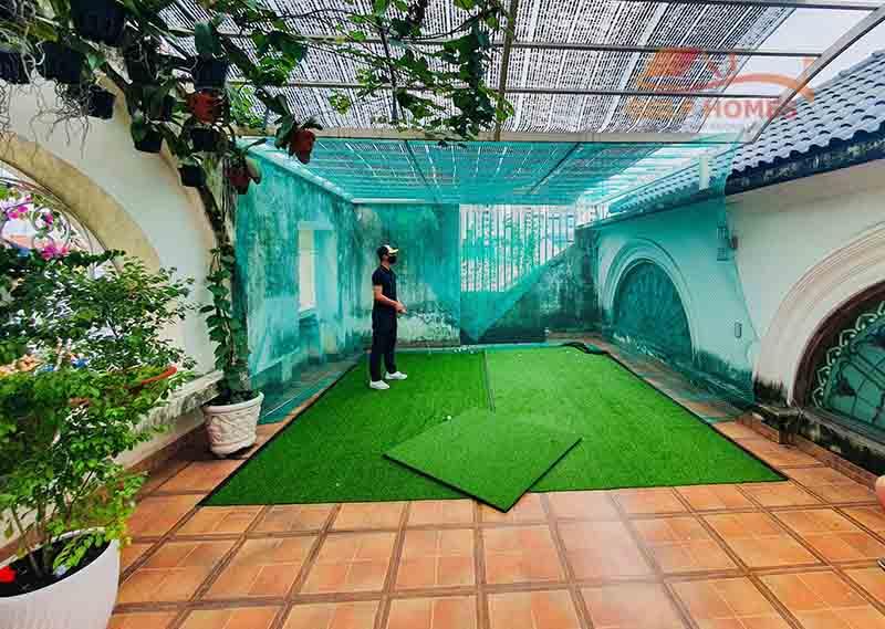 Chơi golf 3D tại nhà giúp người chơi duy trì và nâng cao trình độ