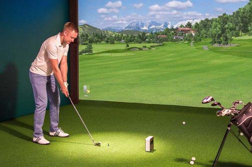 Phòng tập golf 3D màn hình đơn với chi phí rẻ hơn
