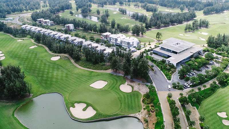Sân golf Montgomerie Links đẳng cấp ở Đà Nẵng