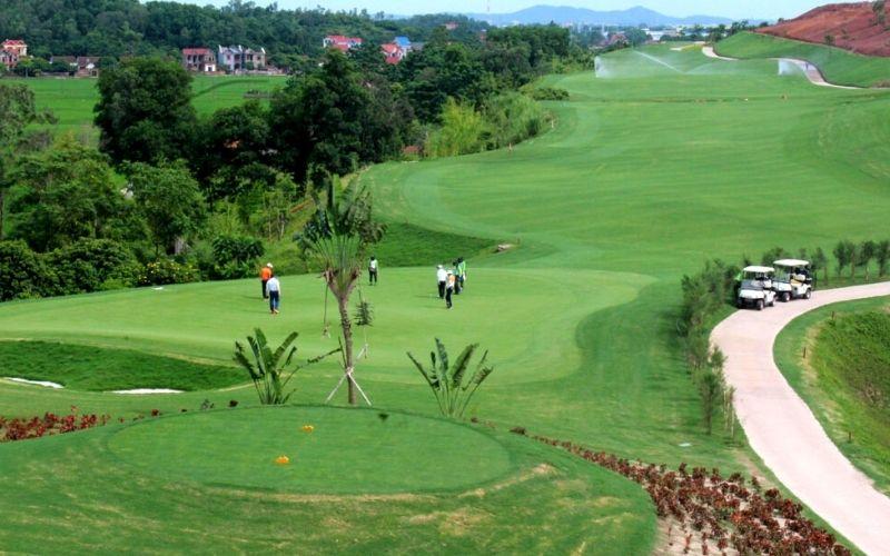 Hình ảnh sân golf Yên Dũng (Bắc Giang)
