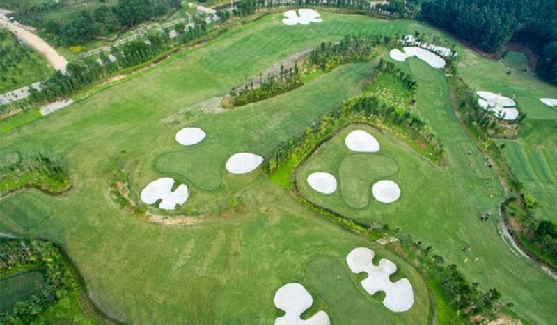 Tiêu chuẩn thiết kế sân golf 18 hố theo khu vực