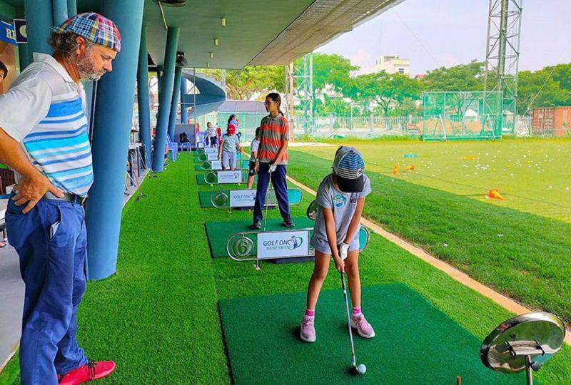 Sân tập golf DNC Đà Nẵng