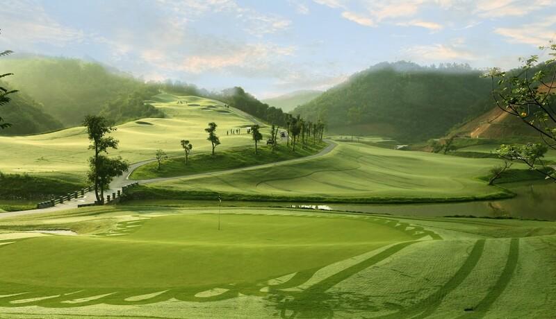 Sân golf Hilltop là sân 36 lỗ tiêu chuẩn