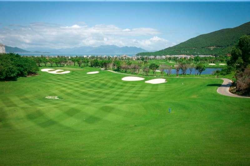 Lỗ golf số 3, par 3 được coi là lỗ golf biểu tượng của sân