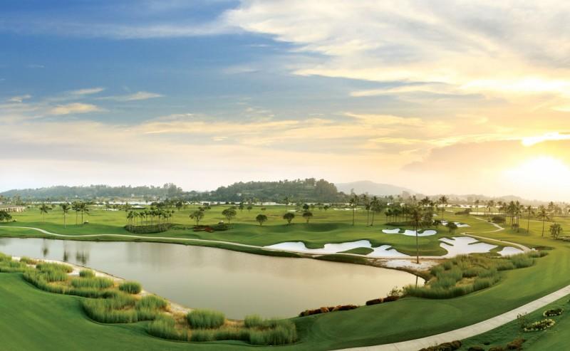 Hình ảnh sân golf Sông Giá Hải Phòng