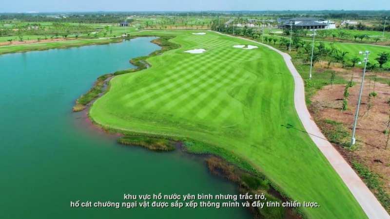 Thiết kế sân golf vừa mang lại cảm giác yên bình vừa tạo thử thách cho người chơi