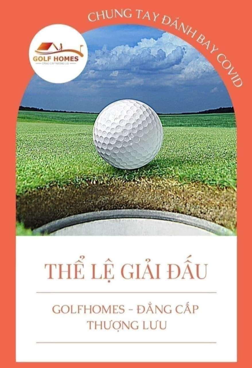 Giải Golf3D mở rộng - Chung tay đánh bay covid