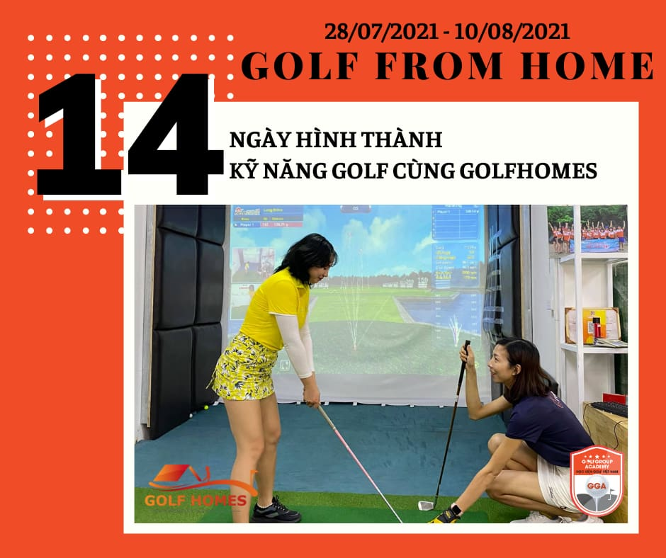 Thử thách 14 ngày hình thành thói quen Golf