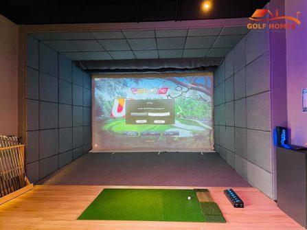 phòng golf 3D Gói Platinum Golfhomes UDR 4.0 Royal