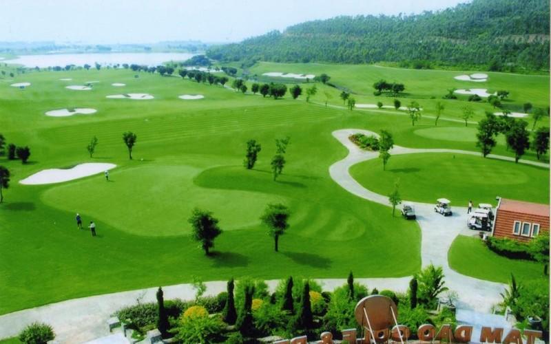 Dự án sân tập golf Bắc Ninh được đảm bảo 100% môi trường sinh thái xanh - sạch - đẹp với cảnh quan sông nước hữu tình