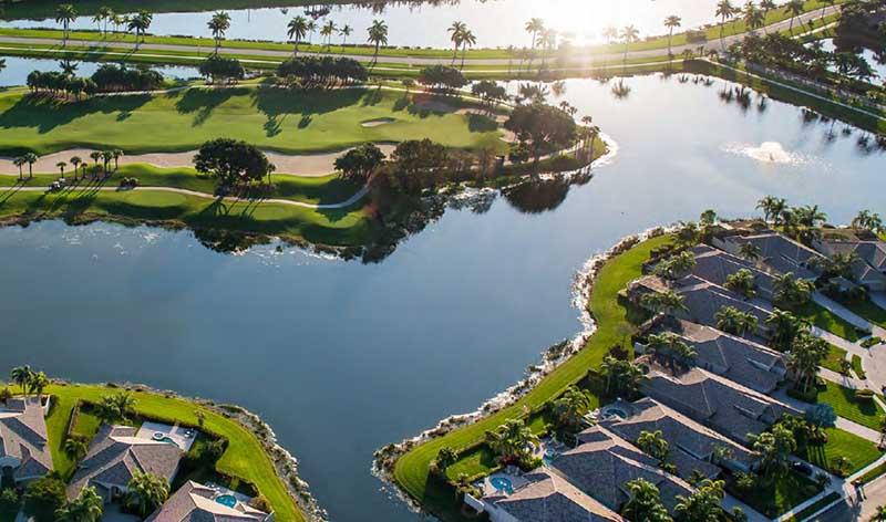 Khu nghỉ dưỡng đẳng cấp ở sân golf