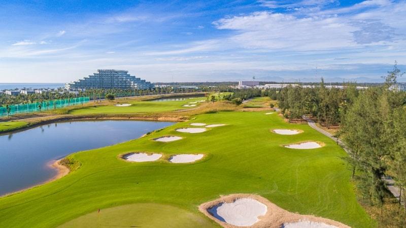 vị trí đắc địa của vinpearl nam hội an golf
