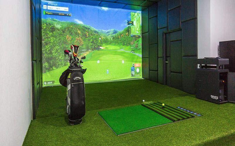 Sân golf trong nhà là xu hướng hiện đại được nhiều gofler lựa chọn