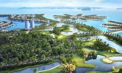 Toàn cảnh sân golf Tuần Châu Hạ Long