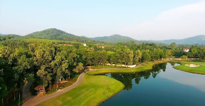Sân golf Đại Lải nổi tiếng với không gian nghỉ dưỡng hoàn hảo
